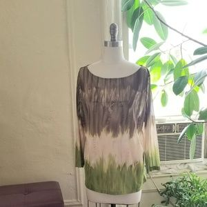 Jones NY Woman Sheer Blouse/Shirt NWOT